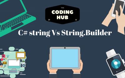 C# string Vs StringBuilder