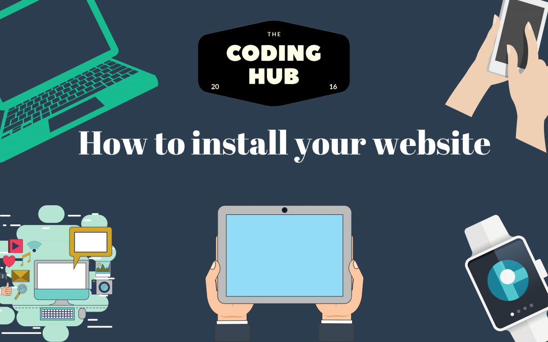 How to install your website